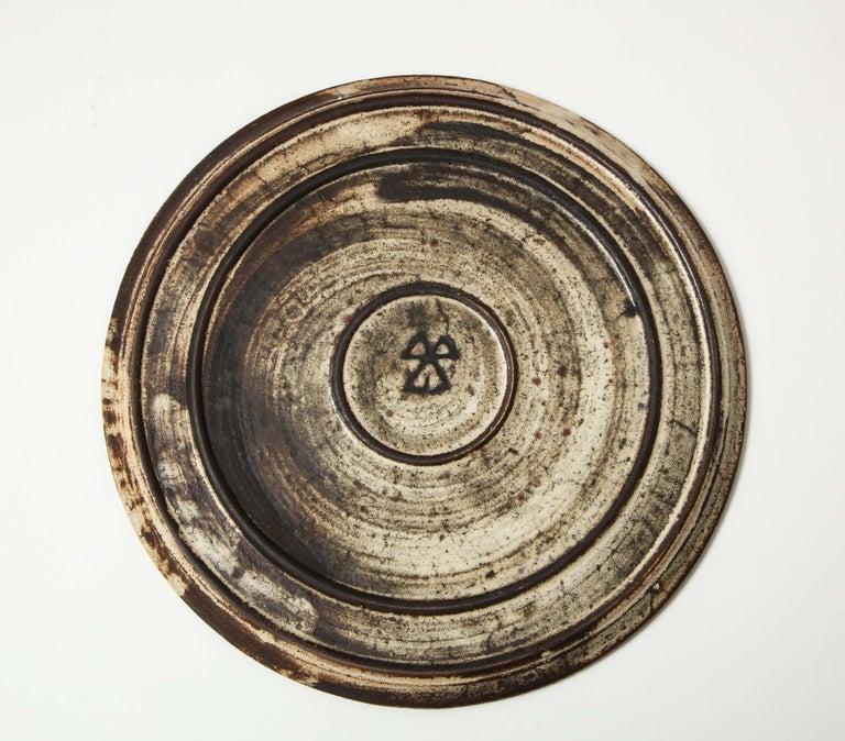 Gustave Raynaud Ceramic Platter, France, circa 1960s 1