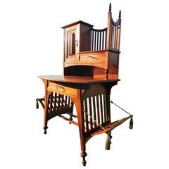 Gustave Serrurier-Bovy, Art Nouveau Schreibtisch