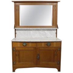 Gustave Serrurier-Bovy Marble Top Vanity, circa 1905