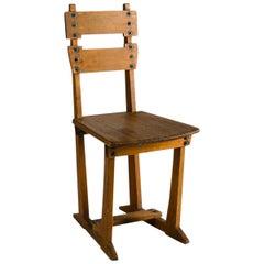 Gustave Serrurier-Bovy, Silex, Side Chair, Belgium, circa 1925