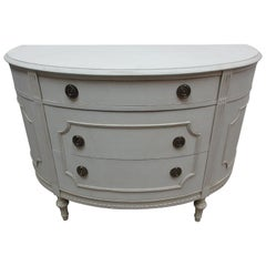Gustavian Barrel Front Chest