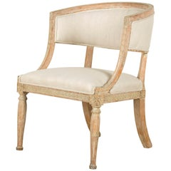 Gustavian Barrelback Chair