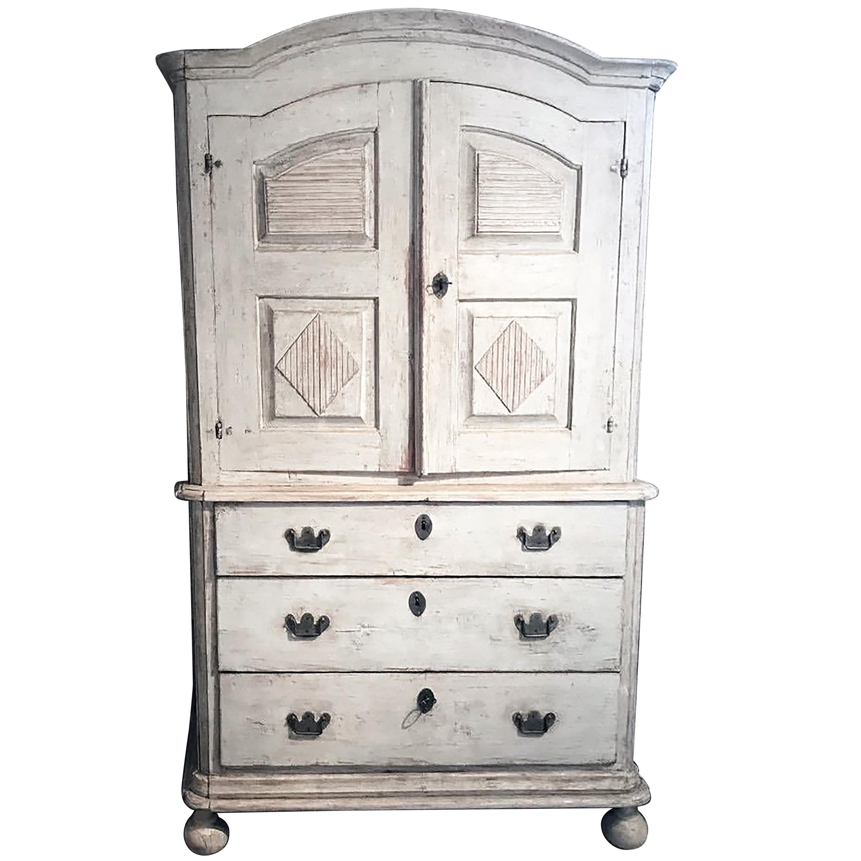 18th Century Swedish Cupboard or Buffet