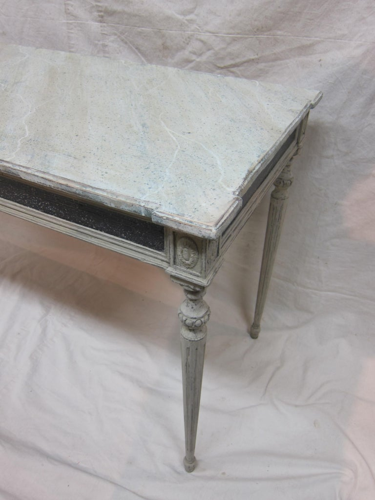 Gustavian Console Table For Sale 5