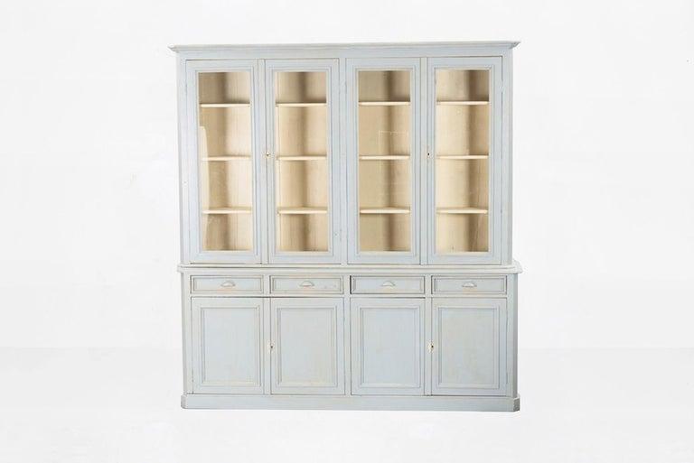 Swedish Gustavian cupboard bookcase, 19th century.