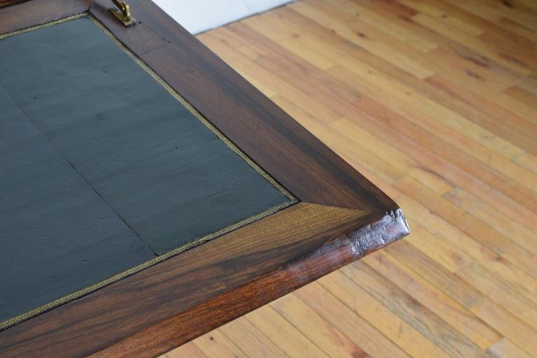 Gustavian Ebonized Cherrywood Slant-Front Desk, 18th Century For Sale 5