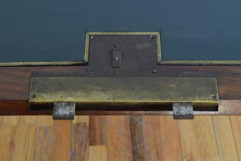 Gustavian Ebonized Cherrywood Slant-Front Desk, 18th Century For Sale 6