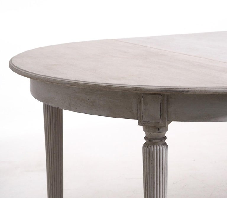 Gustavian Extension Table, 20th Century 1