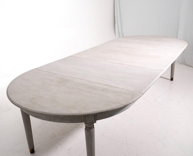 Gustavian Extension Table, 20th Century 2