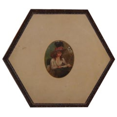 Gustavian Metal Tray, circa 1790