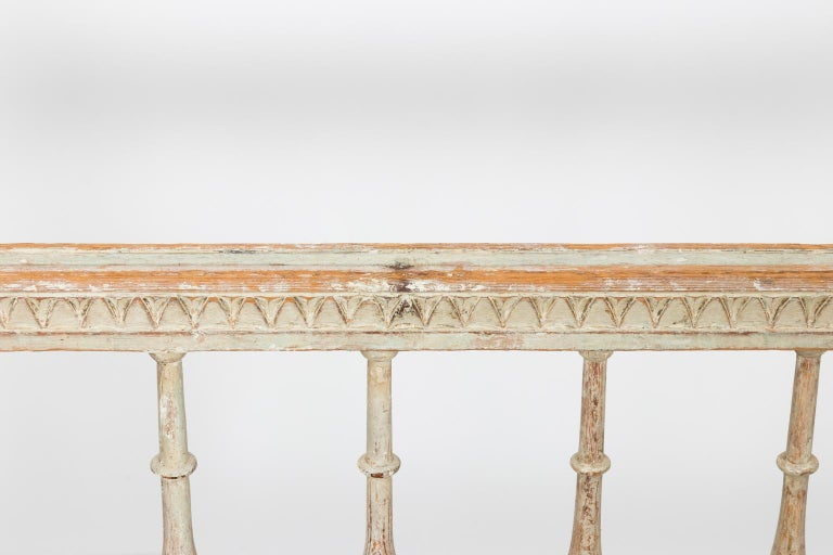 Gustavian Painted Sofa, circa 1790s For Sale 5