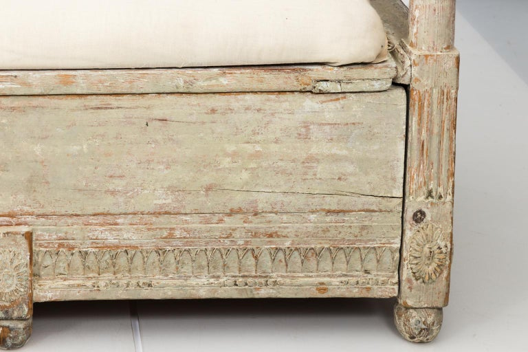 Gustavian Painted Sofa, circa 1790s For Sale 4
