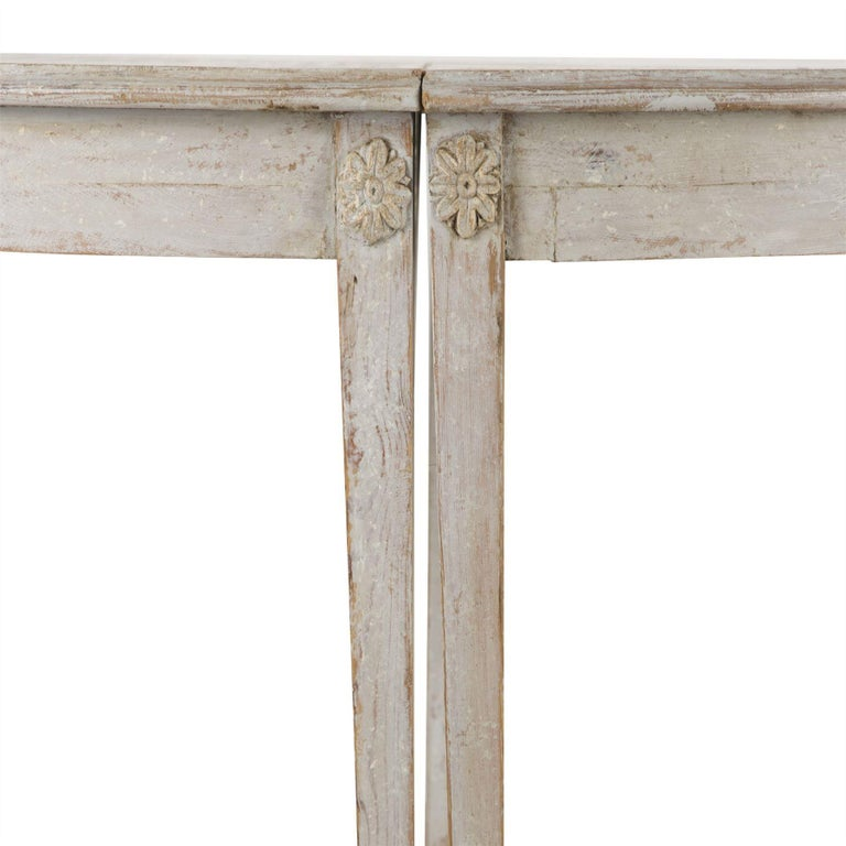 18th Century and Earlier Gustavian Period Extending Dining Table For Sale