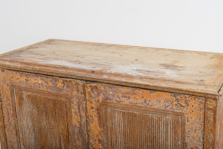 Gustavian Sideboard with Rustic Patina Manufactured, 1790 For Sale 5
