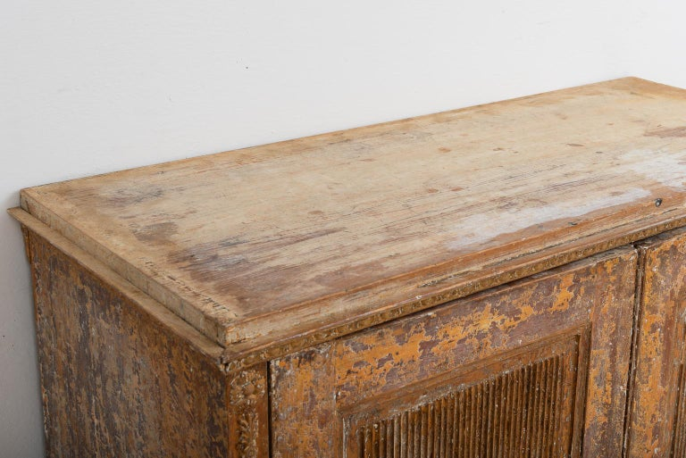 Gustavian Sideboard with Rustic Patina Manufactured, 1790 For Sale 6
