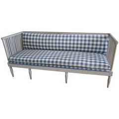 Gustavian Sofa, 19th Century