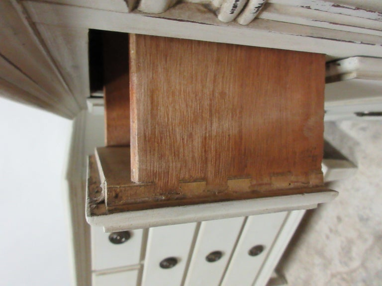 Mid-20th Century Gustavian Style 5-Drawer Nightstands For Sale
