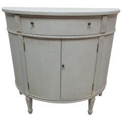 Gustavian Style Barrel Console