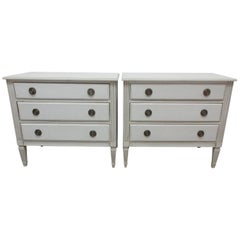 Gustavian Style Chest of Drawers 2