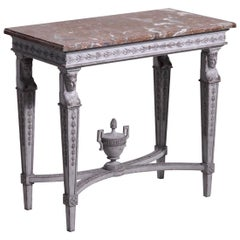 Gustavian Style Console, circa 120 Year Old