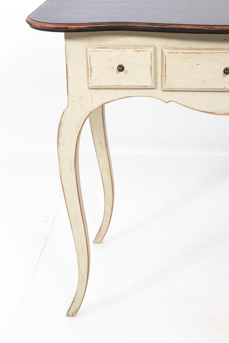 Gustavian Style Console Table In Good Condition For Sale In Stamford, CT