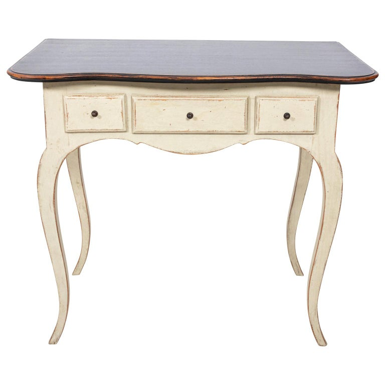 Gustavian Style Console Table For Sale