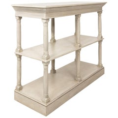 Gustavian Style Painted Console