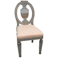 Gustavian Style Side Dining Chair