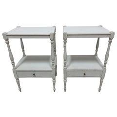 Gustavian Style Side Tables
