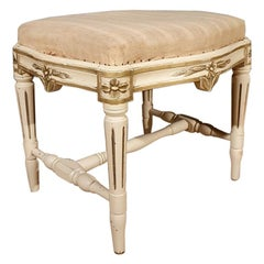 Gustavian Style Swedish Stool