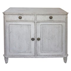 Gustavian Style Two-Door Sideboard