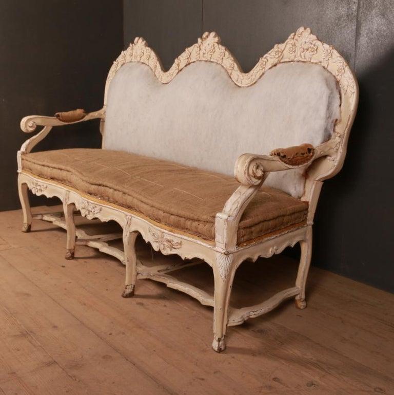Gustavian Swedish Sofa For Sale 2