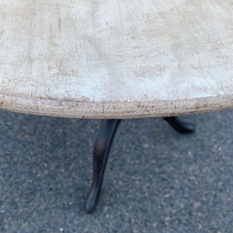 Gustavian Tilt-Top Pedestal Table, Sweden For Sale 8