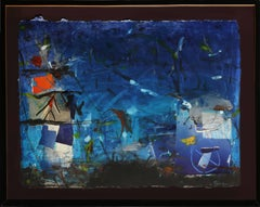 Mixed Media Abstract Painting by Gustavo Rivera