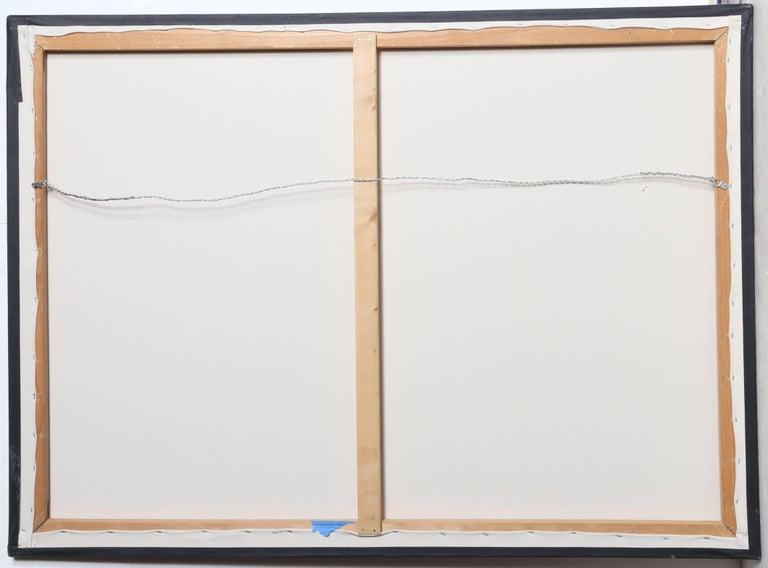 Tres Bolsas de Papel en Diagonal, Oil Painting by Gustavo Schmidt For Sale 2