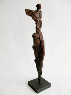 """Male Figure Red Patina"""