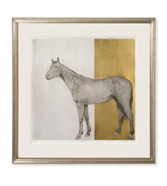 Guy Allen, Equine Gold, Affordable Contemporary Art