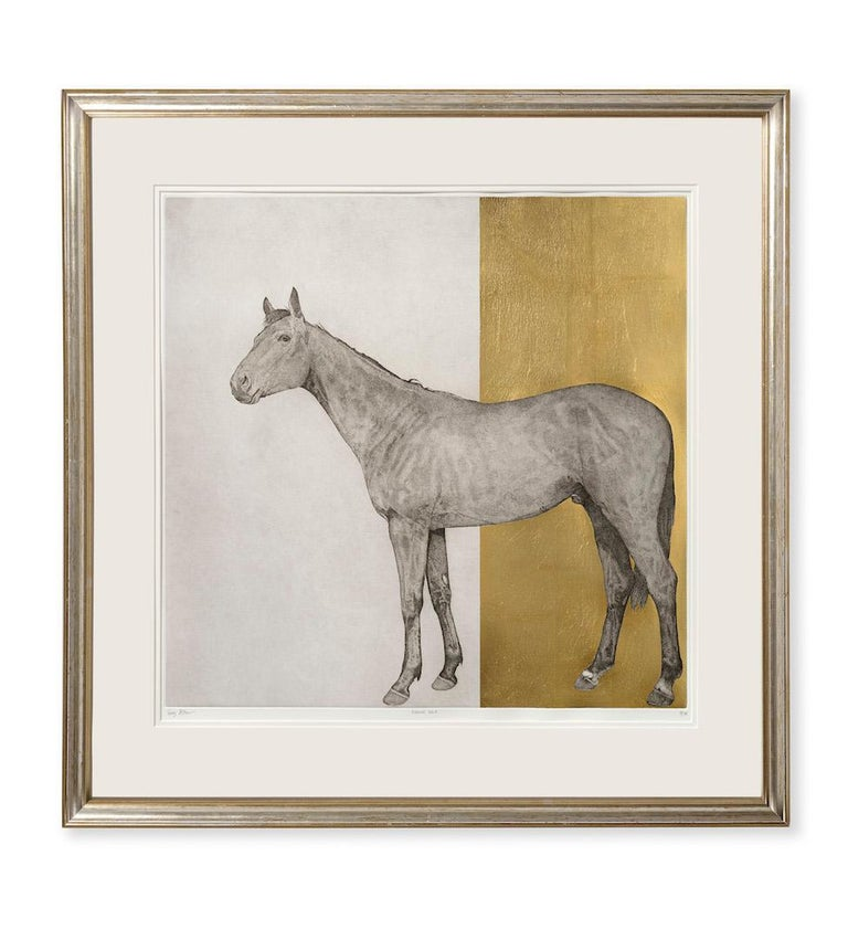 Guy Allen, Equine Gold, Affordable Contemporary Art - Print by Guy Allen
