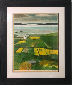 """""""Lumière D'Irlande (Light of Ireland)"""" by Guy Bardone, Lithograph on paper"""