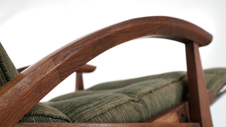 Guy Besnard FS 134 Reclining Lounge Chair, 1954 for Free Span, France Prouvé 4