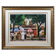 Guy Buffet Le Petit Prince Serigraph French Bistro Restaurant Cafe Auberge