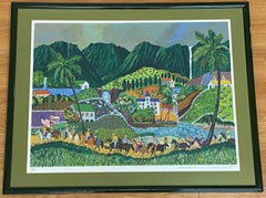 Guy Buffet Limited Edition Hawaii Lithograph C.1990s