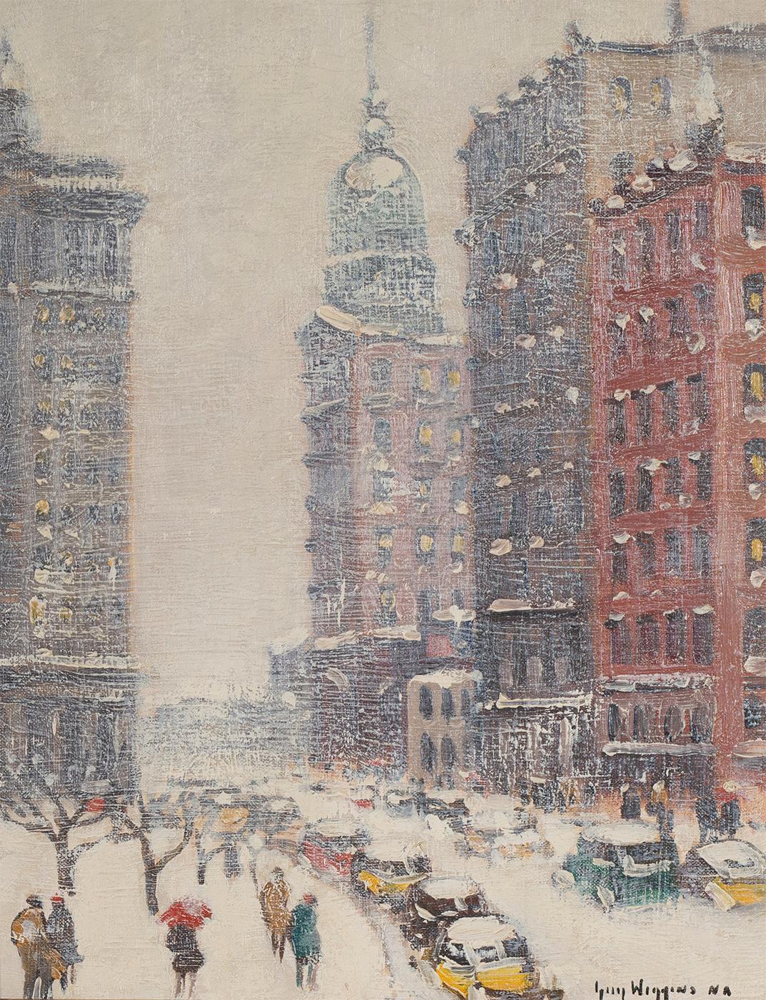 Lower New York, Winter