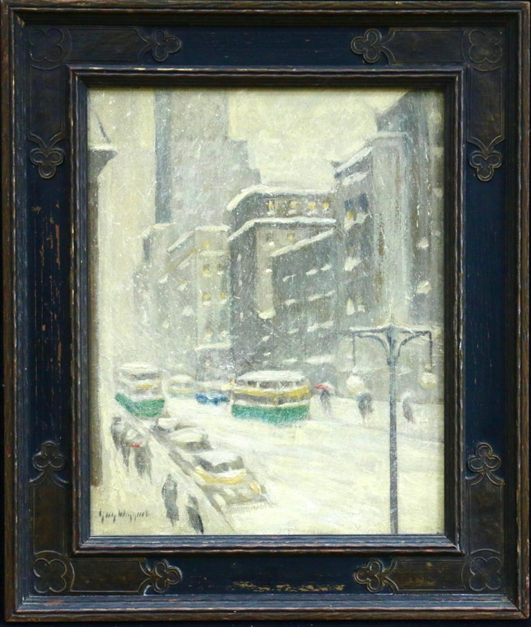 Guy Carleton Wiggins Midtown Storm New York City 19th