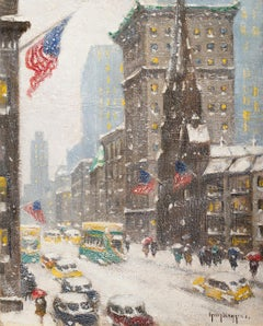 Winter at 57th St and Fifth Avenue