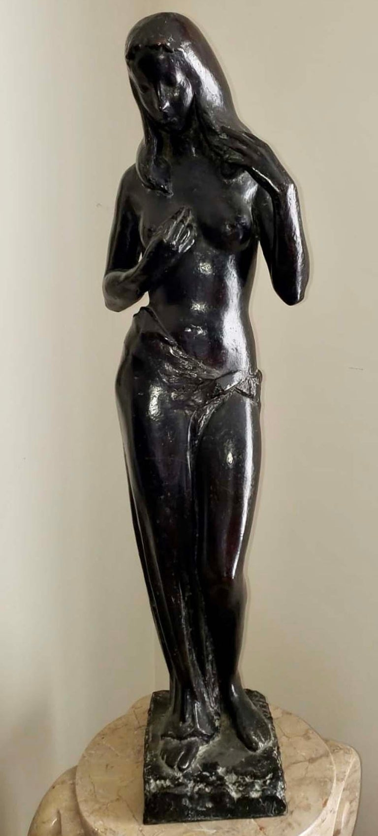 Guy Charles Revol Figurative Sculpture - Venus