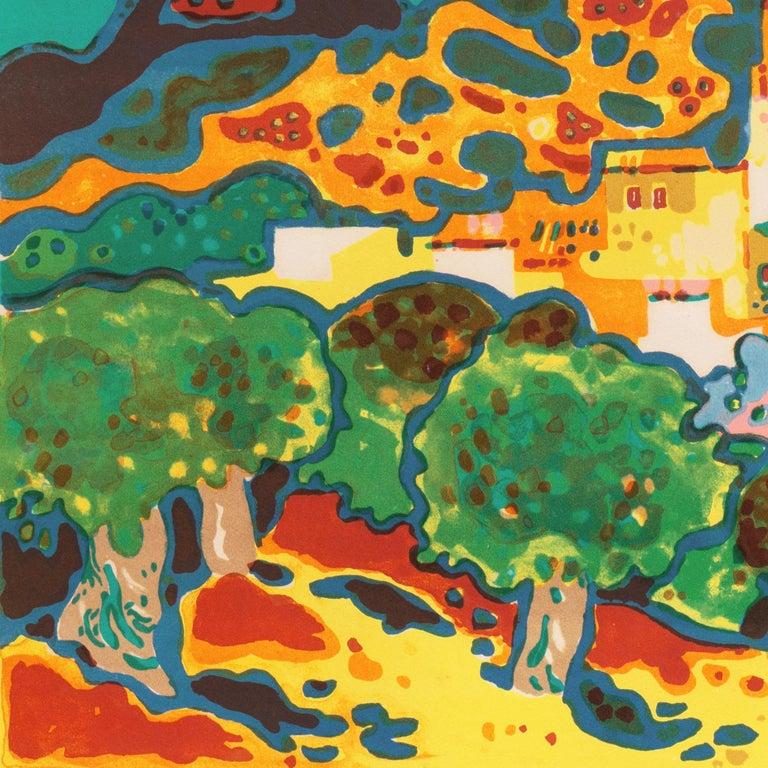 'Landscape with Village', Paris, Salon d'Automne, Musée d'Art Moderne For Sale 1