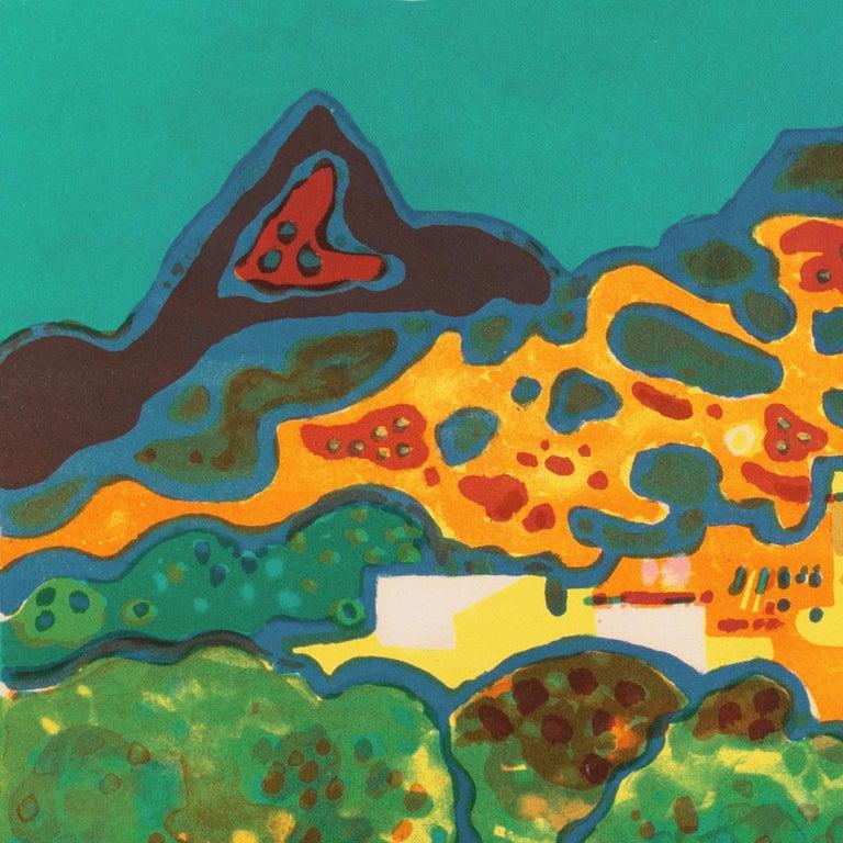 'Landscape with Village', Paris, Salon d'Automne, Musée d'Art Moderne For Sale 2