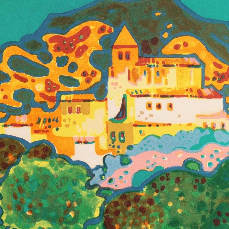 'Landscape with Village', Paris, Salon d'Automne, Musée d'Art Moderne For Sale 3