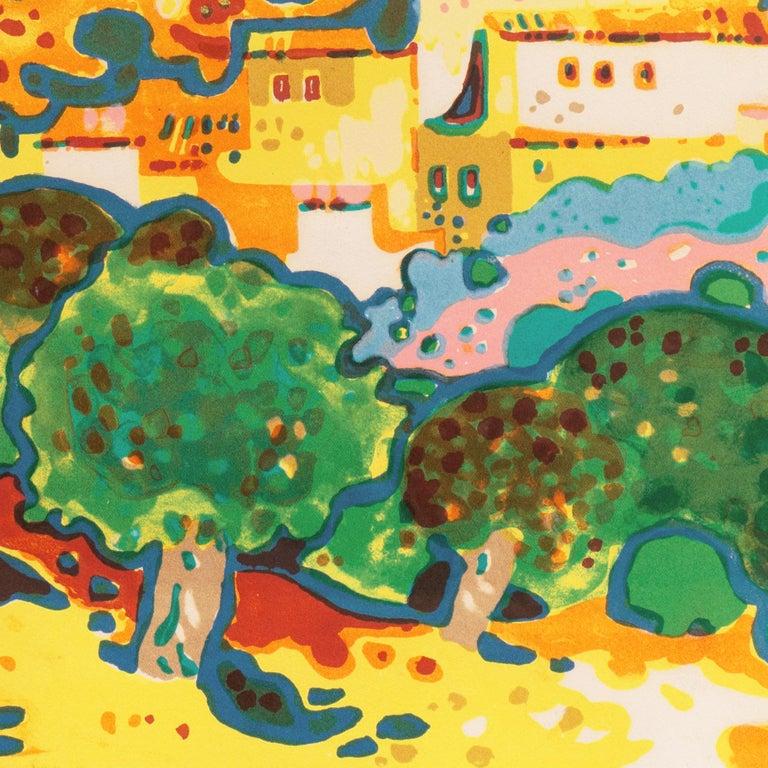 'Landscape with Village', Paris, Salon d'Automne, Musée d'Art Moderne For Sale 4
